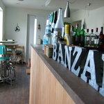 バンザイカフェ - お酒も多数あります。