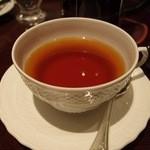 ホテルグランヴィア大阪 ロビーラウンジ - ロンネフェルト社製ルイボスキャラメル(1290円)