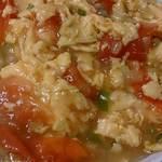 好味苑 - 好味苑 @本蓮沼 優しい味で旨み充分のトマトと玉子炒め