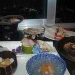 ホテル雲丹御殿 - 夕食