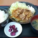 36236488 - 生姜焼き定食