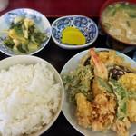 柏木亭 - 天婦羅定食♩