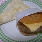Rusk - ナンカレー180円チーズバーガー265円