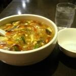 中華料理 菜香菜 - 酸辣スープ