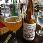 展望レストラン 陽のあたる場所 - 地ビールで頂きます