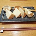 小割烹おはし - 手作り豆腐