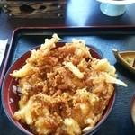 魚貝料理 たかはし - かき揚げ丼