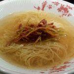 東京老拉麺 - 細切りチャーシューねぎそば