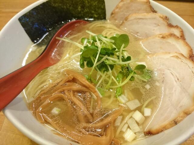 麺屋 燕 - 2015年1月 燕チャーシュー麺(塩) 880円
