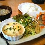 らんぽ - 料理写真:Bランチ(魚のムニエル)1300円