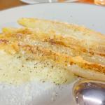 チェルニア - アスパラ タレッジョと白アスパラのピュレ