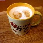 パン工房カフェ 房の駅 - カフェラテ!(2015,03/21)
