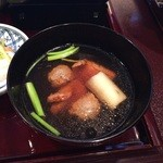 日本料理 対い鶴 - 鴨せいろの汁