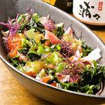 久利舟DINNING - 海草たっぷりのサラダ
