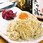 久利舟DINNING - 富山のおにぎり(梅・いくら)