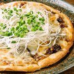 久利舟DINNING - 和風ねぎ味噌ピザ