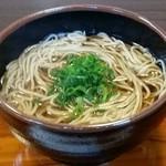なかじ - 料理写真:かけ蕎麦