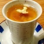 36243675 - 肉入り茶碗蒸し。