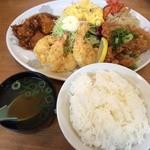 中華料理ぐら - ぐら定食950円 ※2015年3月