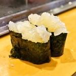 栄寿司 - 2015.3 くらげ(1貫110円)