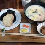 cafe コメマメイモ - 一汁一穀定食