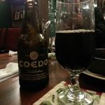 ギリギリ カフェ - COEDOビール(漆黒)