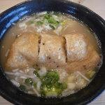 鳴門 - 塩鶏炊麺(夕方5時より)780円