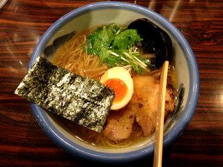 AFURI 麻布十番 - 塩ラーメン780円