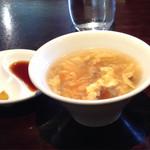 36252854 - 日替わりランチのスープ