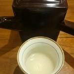 36253544 - 湯桶と蕎麦湯