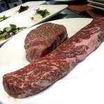 鉄板ラウンジ 旬 - この日のお肉