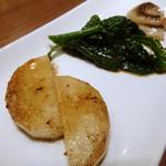 鉄板ラウンジ 旬 - 本日の野菜 選んだ3種(お友達の)