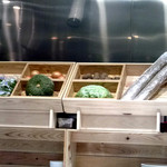 鉄板ラウンジ 旬 - 本日の野菜たち