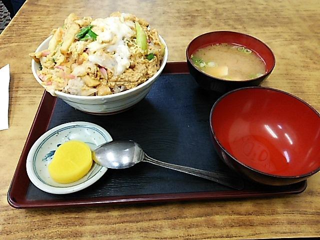 大力食堂 - 木の葉丼…これでレギュラーサイズ!!!