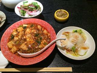 北新地 中国料理 星華 - 麻婆豆腐