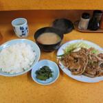 山水亭 - 料理写真:焼肉定食