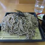 水芭蕉 - ざる蕎麦(大) 550円