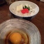 THE 有鳥天酒場 - 明太子バターTKG¥410