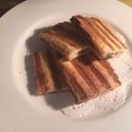 バーカロ - 白トリュフとマッシュルームのパニーニ