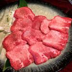 韓国宮廷料理ヨンドン - 黒毛和牛上タン塩