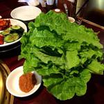 韓国宮廷料理ヨンドン - サンチュ