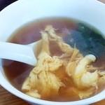 チノス - スープ