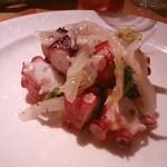 36267165 - ぶつ切り蛸とセロリのガーリック風味♪
