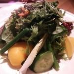 36267312 - 本日入荷野菜のミックスサラダ♪