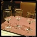 イタリッチ - テイスティング用のグラス