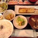 36268368 - さば塩焼き定食 540円(税込)(2015年3月20日撮影)