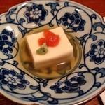 36269209 - 豆乳豆腐、ホヤ塩辛、山葵