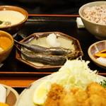 美松 - 麦とろ定食(1200円・お連れ様オーダー)