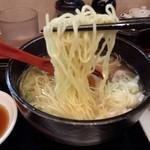 shanshannihombashiyakigyouza - さっぱり鶏そば