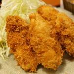 美松 - 料理写真:カキフライ♪